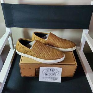 STEVE MADDEN Mens Adoro Sneaker Tan 11